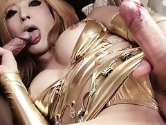 Japanese trans loveliness assfucking..