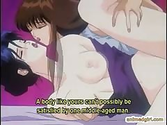 Hentai babe in arms having..