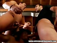 Monique 3 tramp gangbang