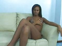 Gaunt Tgirl Enjoys Their way..