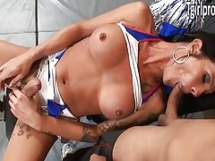 TS Morgan Bailey anal fucks will not..