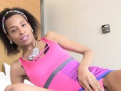 Sooty tgirl strips coupled with shows..