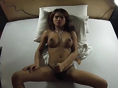 Clumsy Ladyboy Punter Fucked