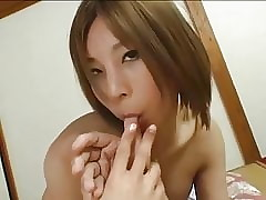 Down in the mouth Japanese Manageress