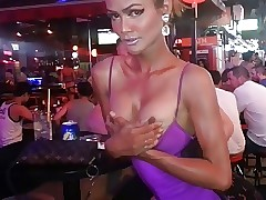 Ladyboy far slay rub elbows with..